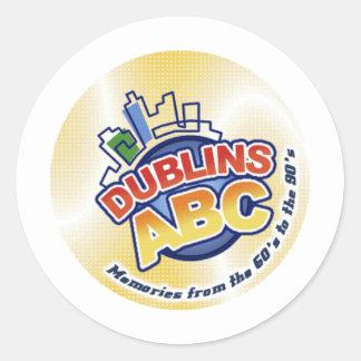 Dublins ABC ラウンドシール