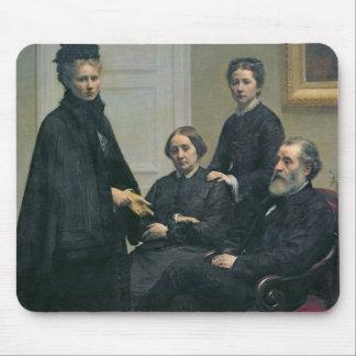 Dubourg家族1878年 マウスパッド