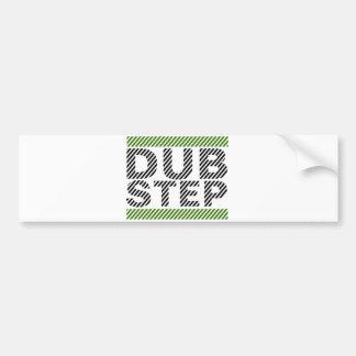 Dubstepの緑 バンパーステッカー