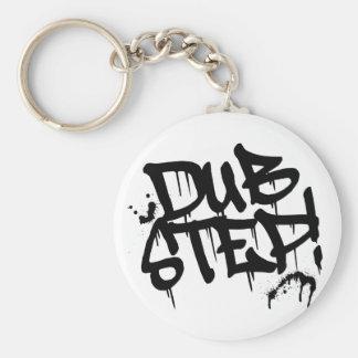 Dubstepの落書きのスタイル キーホルダー