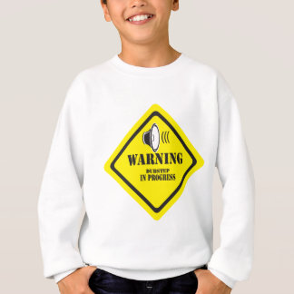 Dubstepの警告 スウェットシャツ