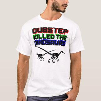 Dubstepは恐竜2を殺しました Tシャツ