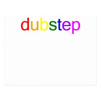 Dubstep色スペクトル ポストカード