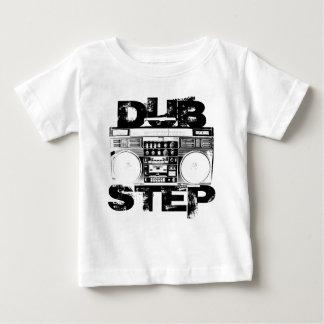 Dubstep黒いBoombox ベビーTシャツ