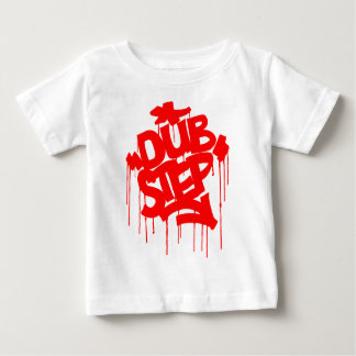 Dubstep FatCapの赤 ベビーTシャツ