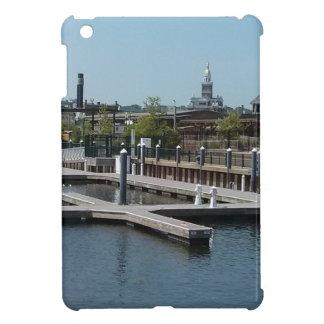 Dubuqueのアイオワの氷港、ミシシッピー川 iPad Mini Case