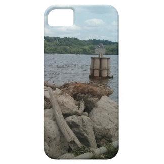 Dubuqueの港のミシシッピー川 iPhone SE/5/5s ケース
