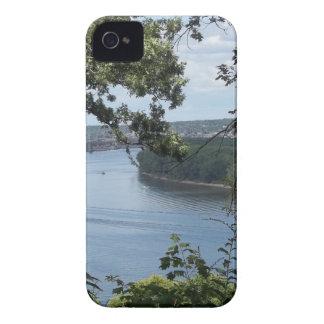 Dubuque、ミシシッピー川のアイオワ市 Case-Mate iPhone 4 ケース