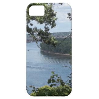 Dubuque、ミシシッピー川のアイオワ市 iPhone SE/5/5s ケース