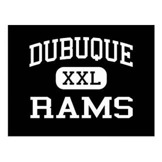 Dubuque -ラム-高等学校- Dubuqueアイオワ ポストカード