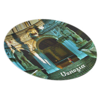 Ducal宮殿-ベニス プレート