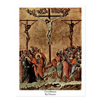 Duccio著はりつけ ポストカード