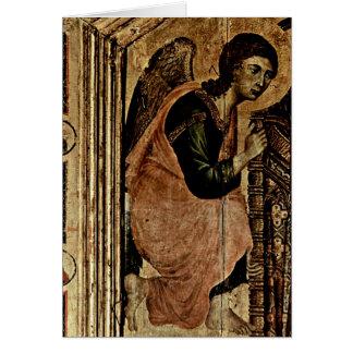 Duccio著天使 カード