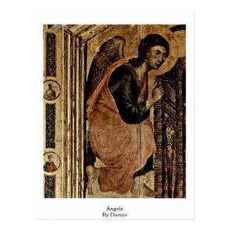 Duccio著天使 ポストカード