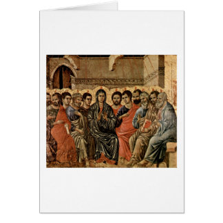 Duccio著Pentecost カード