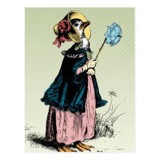 Duck小さい夫人 ポストカード