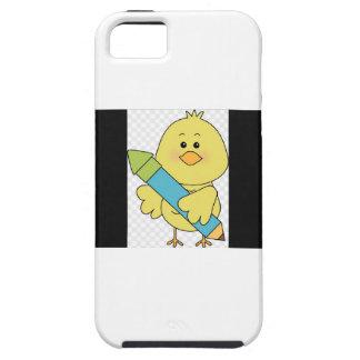 Duckieのアニメーションの例 iPhone SE/5/5s ケース