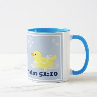 Duckieのピカピカのきれいなゴム製マグ マグカップ