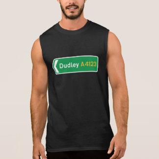 Dudleyのイギリスの交通標識 袖なしシャツ