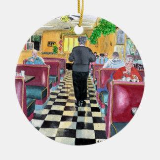 Duffyのレストラン セラミックオーナメント