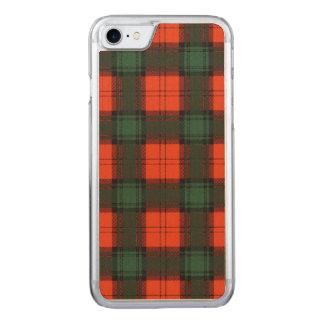 Duilachの一族の格子縞のスコットランドのキルトのタータンチェック Carved iPhone 8/7 ケース