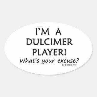 Dulcimerプレーヤーの弁解 楕円形シール