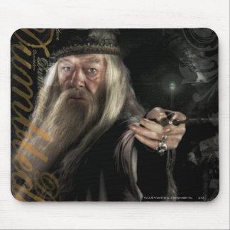 Dumbledoreの原稿のロゴ マウスパッド