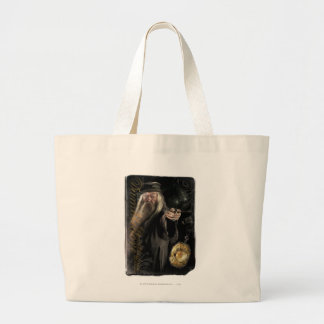 Dumbledoreの原稿のロゴ ラージトートバッグ