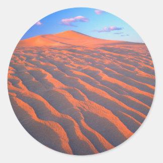 Dumont砂丘、砂丘および雲 ラウンドシール