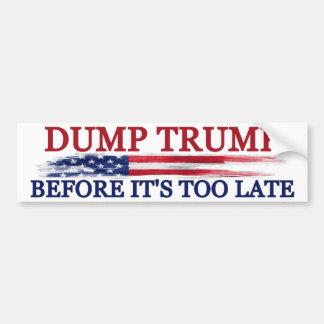 Dump Trump バンパーステッカー