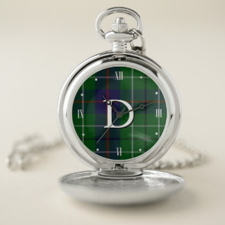 Duncan Tartan Plaid Pocket Watch ポケットウォッチ