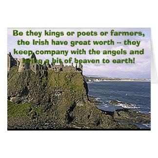 dunluceは、それら王か詩人または農家…です カード