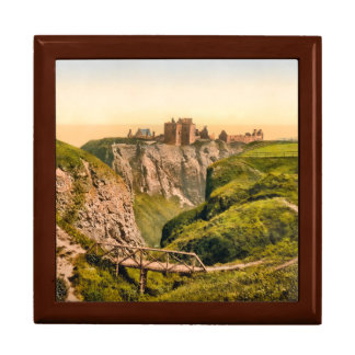 Dunnottarの城のStonehavenスコットランドのギフト用の箱 ギフトボックス