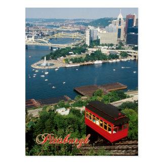 Duquesneの傾斜、ピッツバーグ、ペンシルバニア ポストカード