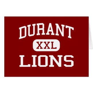 Durant -ライオン-高等学校- Durantオクラホマ カード