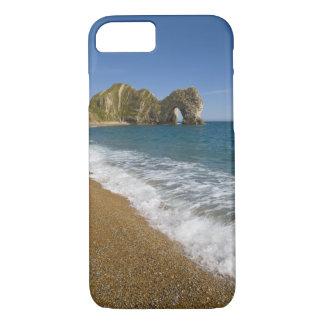 Durdleのドア、Lulworthの入江、ジュラ紀の海岸、2 iPhone 8/7ケース
