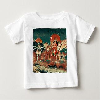 DurgaおよびKali ベビーTシャツ