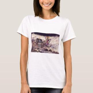DurgaおよびKali Tシャツ