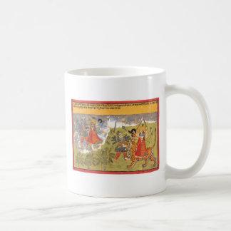 DurgaによってはDaityaの支配者が戦います コーヒーマグカップ