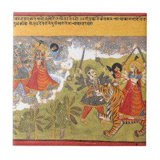 DurgaによってはDaityaの支配者が戦います タイル