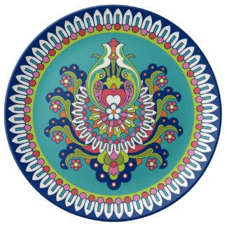 Durgaの磁器皿II 磁器プレート