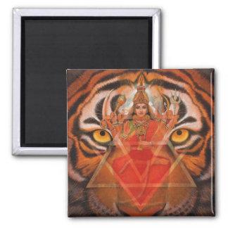 Durga及びトラ マグネット