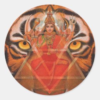 Durga及びトラ ラウンドシール