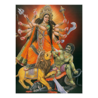 Durga Mahisasuramardiniポスター ポスター