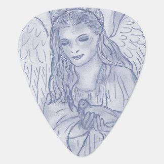 Dusky青の平和な天使 ギターピック