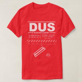 Düsseldorf空港DUS Tシャツ