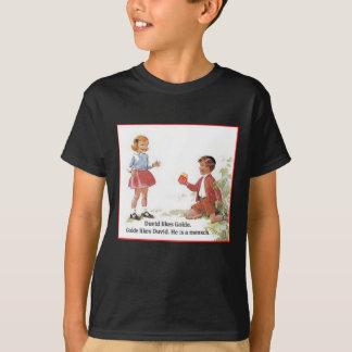 DuvidはGolde.を好みます Tシャツ