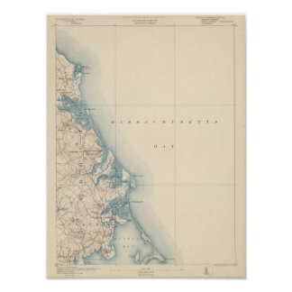 Duxbury、マサチューセッツ ポスター