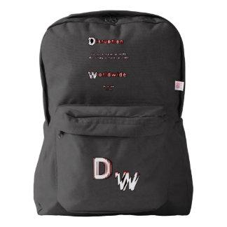 DWのロゴ: アメリカ人のApparel™のバックパック American Apparel™バックパック