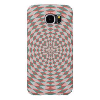 Dwanの抽象的で多彩な円パターン Samsung Galaxy S6 ケース